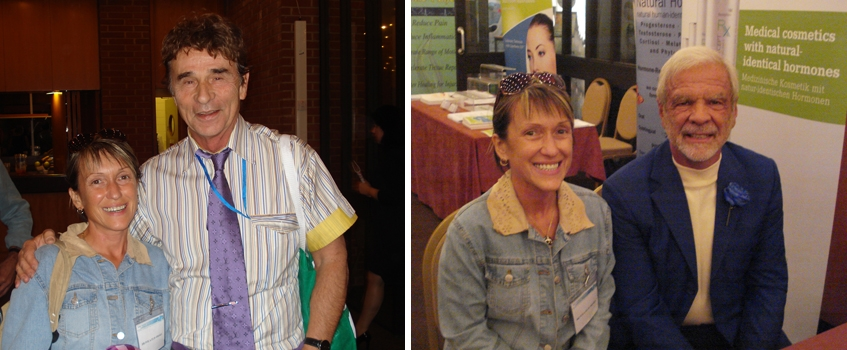 Dr. Richard Lippman, Ph. D. (levo), Dr. Jonathan V. Wright, M. D. (desno) in Ivica Flis Smaka