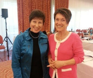 Dr. Pamela W. Smith in Ivica Flis Smaka Frankfurt, oktober 2012